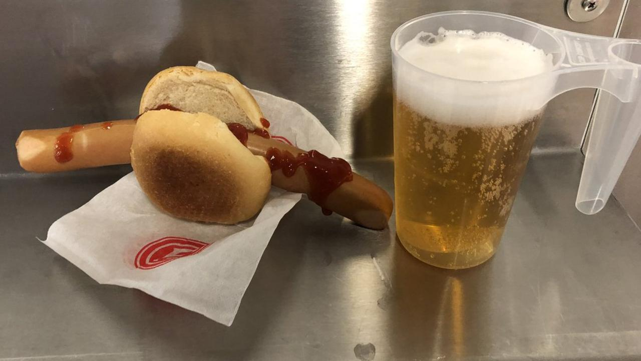 These disgusting dishes served to sport fans across the globe make the food at our stadiums in Australia look like fine dining.