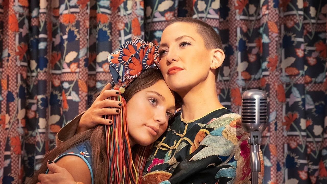Maddie Ziegler and Kate Hudson in Music. Picture: Merrick Morton/StudioCanal.