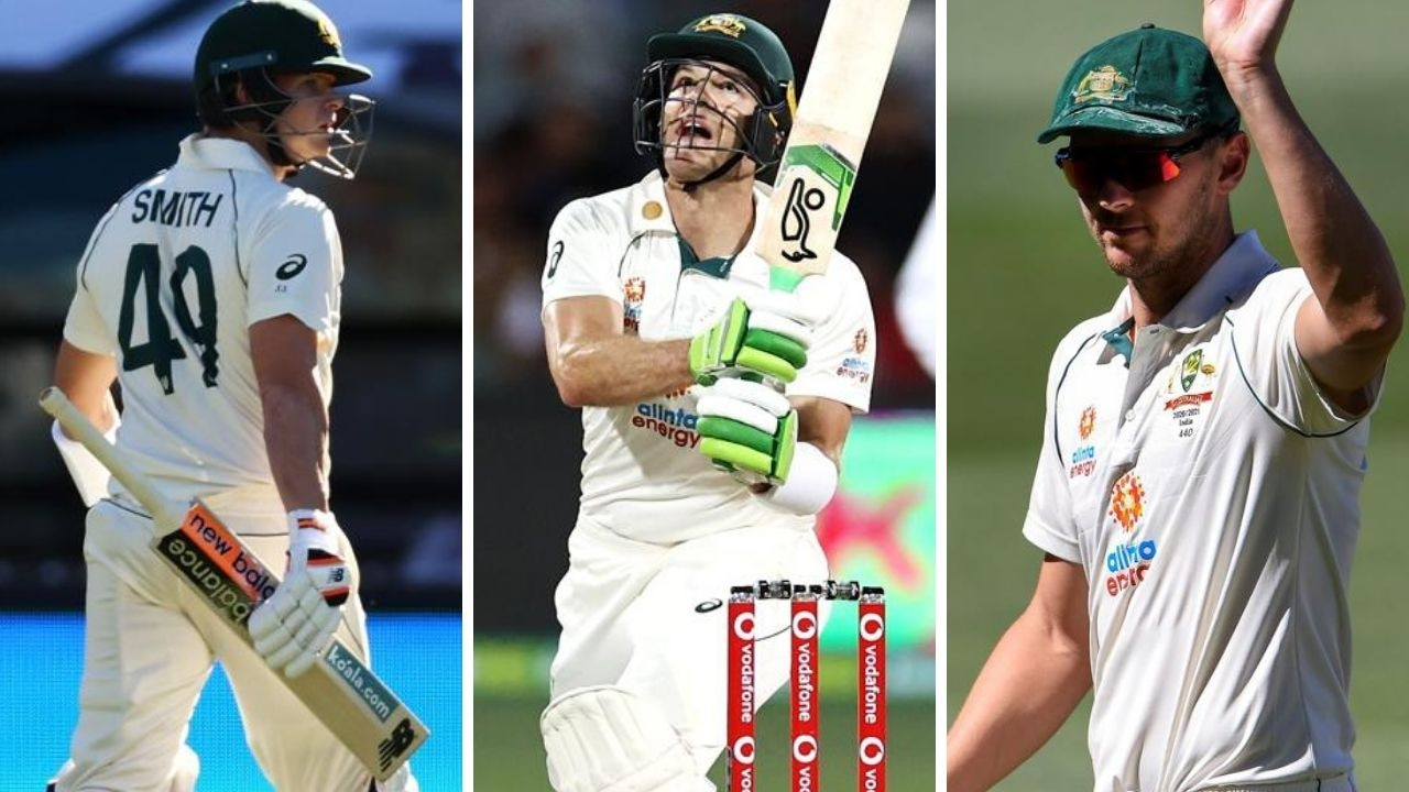 Josh Hazlewood, Tim Paine score big, Steve Smith's rare failure