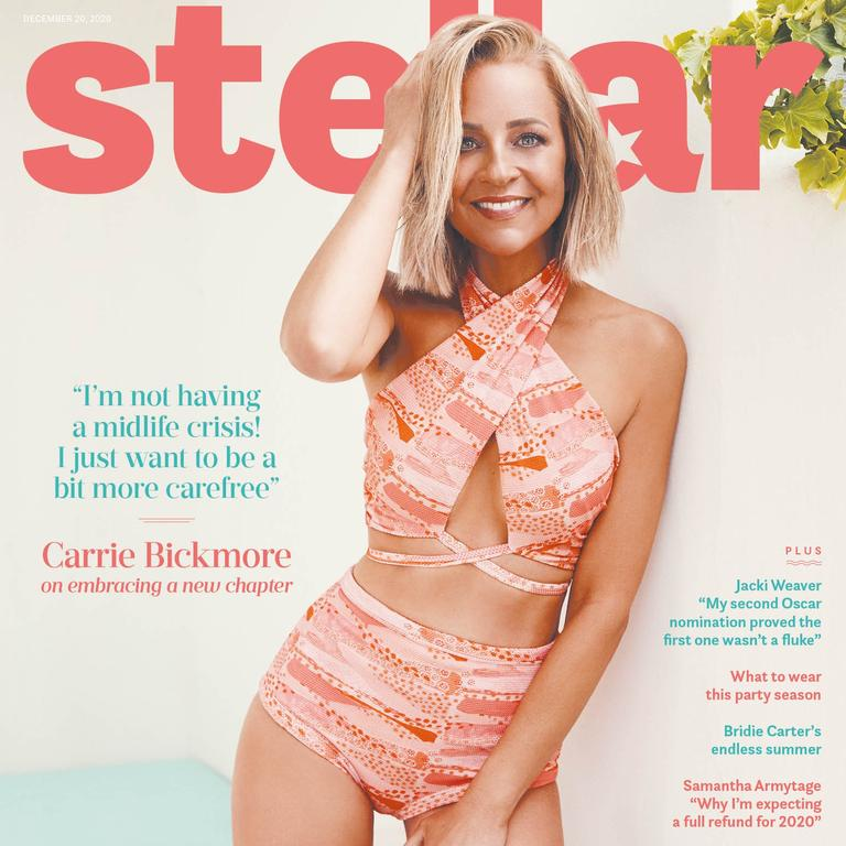 Carrie Bickmore stars on the cover of this Sunday's Stellar.