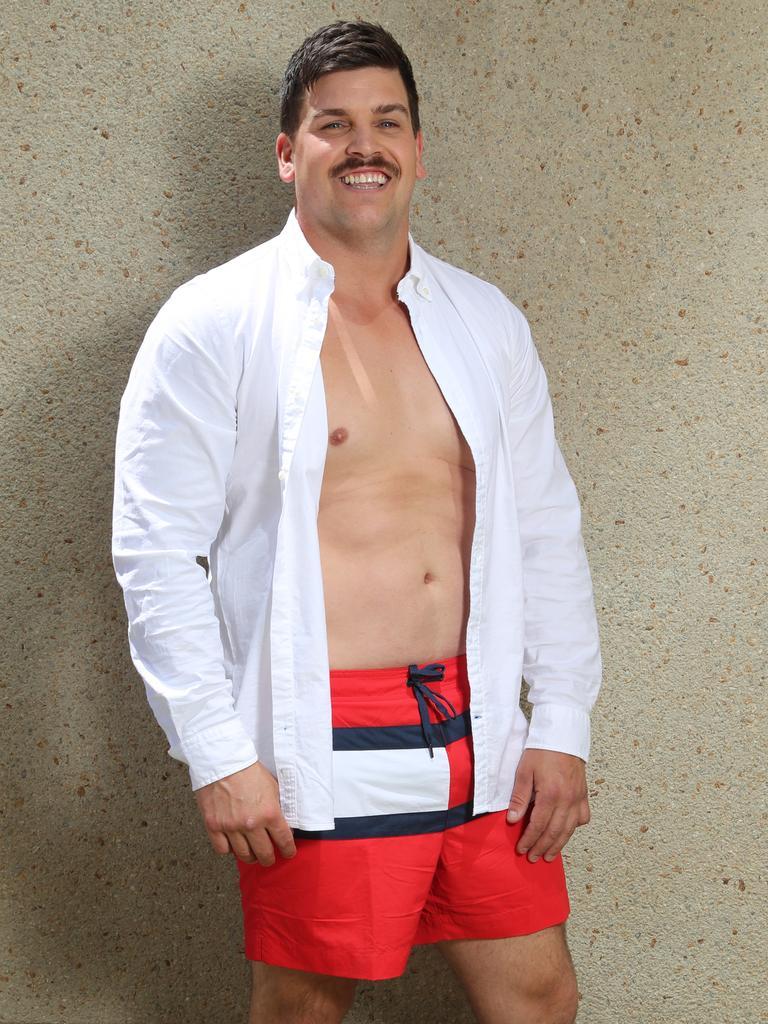 Standard male figure. Picture: Alex Coppel