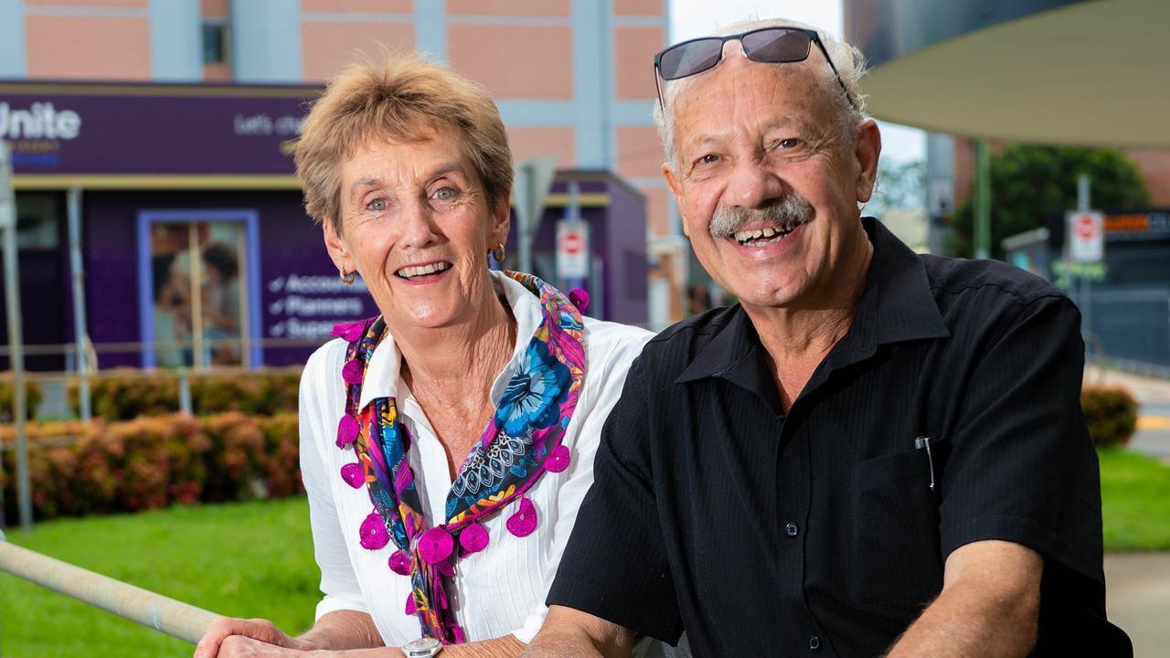 OAM recipients Annette and Jean-Pierre Reifler