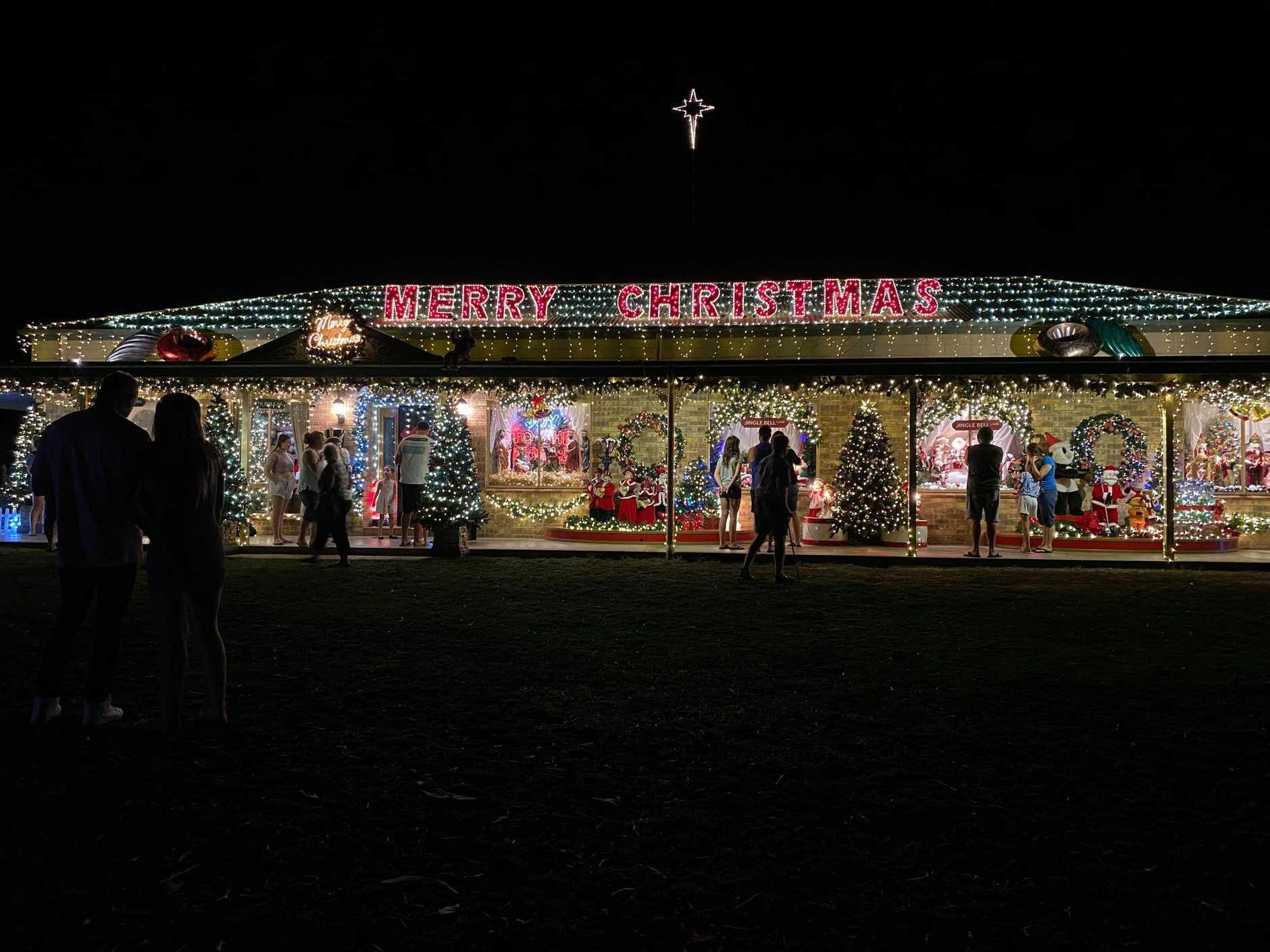 There are some stunning Christmas light displays around the Bundaberg region this year.