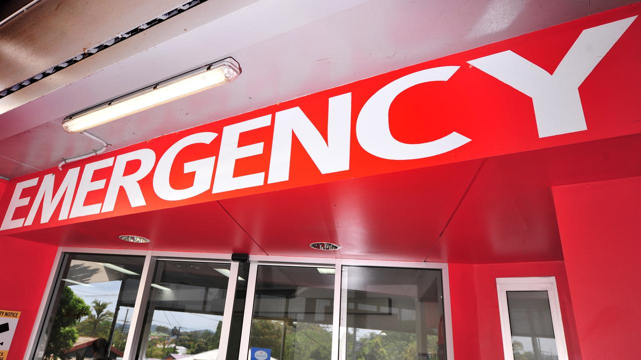 A person has been taken to Nambour Hospital following a two-car crash in Yandina. Picture: Nambour Hospital emergency room