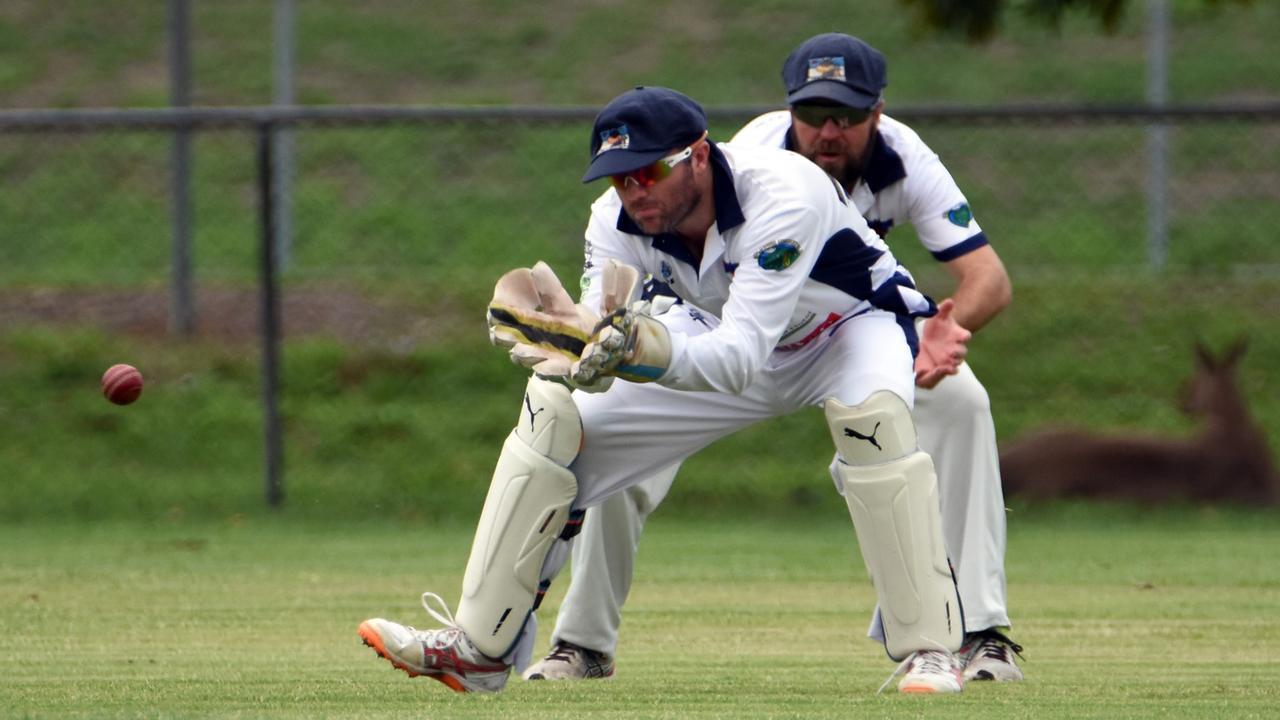 Laidley wicketkeeper Matt Grassick. Picture: Gary Reid