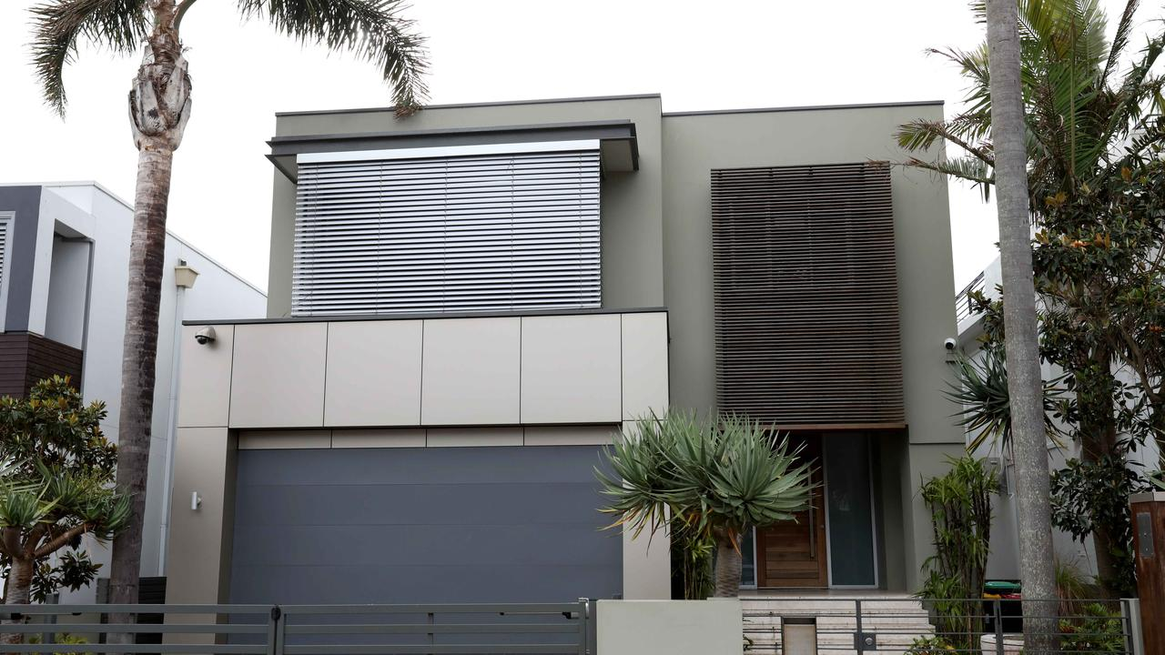 Melissa Caddick's Dover Heights property. Picture: Damian Shaw
