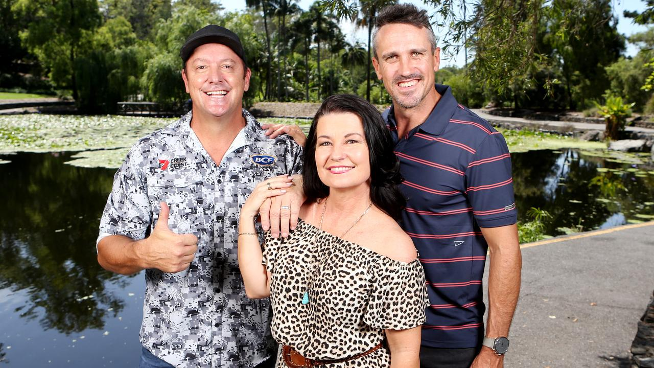Scott Hillier, Laurel Edwards and Lee Carseldine are Channel 7 presenters on the local programs returning in 2021. Picture: Steve Pohlner