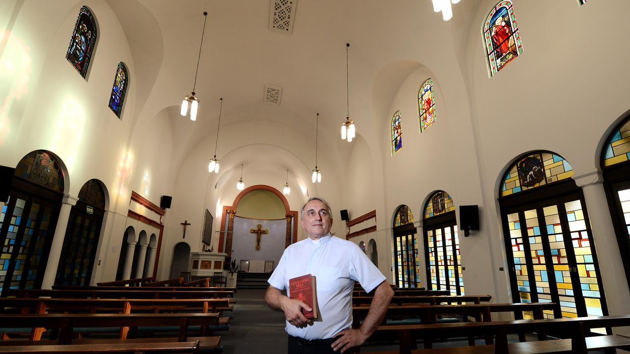 Mackay Anglican Cluster director reverend John McKim at Holy Trinity Anglican Church. Picture: Files