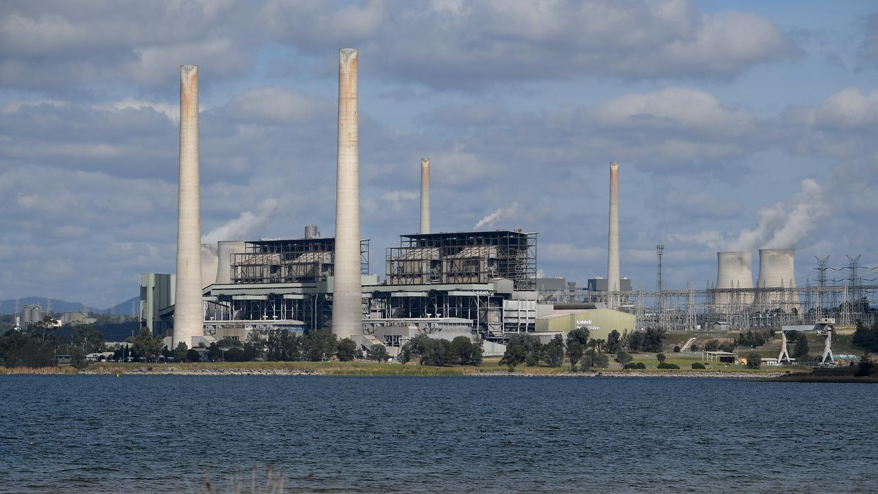 A general view of Liddell power station in Muswellbrook, in the NSW Hunter Valley region. Picture: AAP Image/Dan Himbrechts