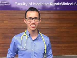 Graduating medical student swaps city life for the bush