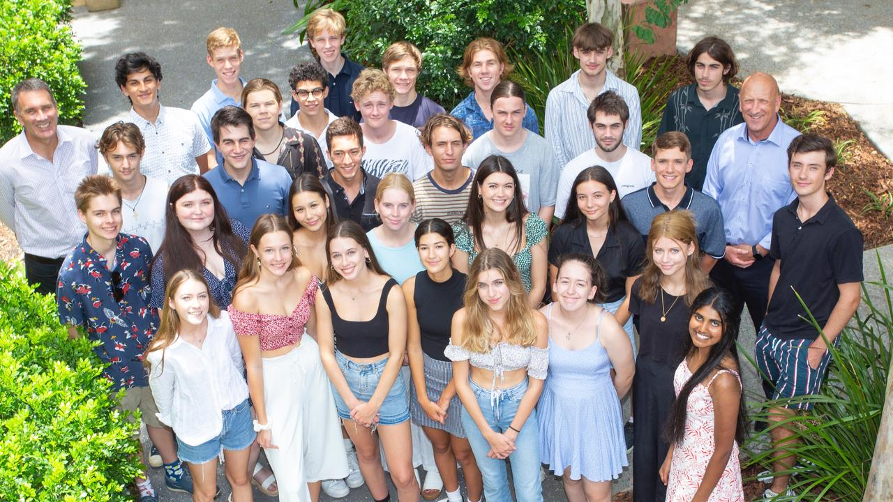 Matthew Flinders has been revealed as one of the top performing schools in Queensland as year 12 student received their ATAR. Picture: Contributed
