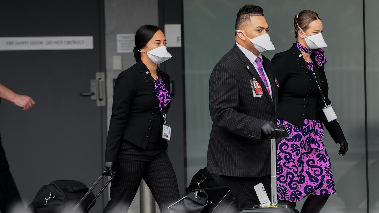 International flight crew members have been allowed to skip Sydney's hotel quarantine system. Picture: AAP Image/Bianca De Marchi
