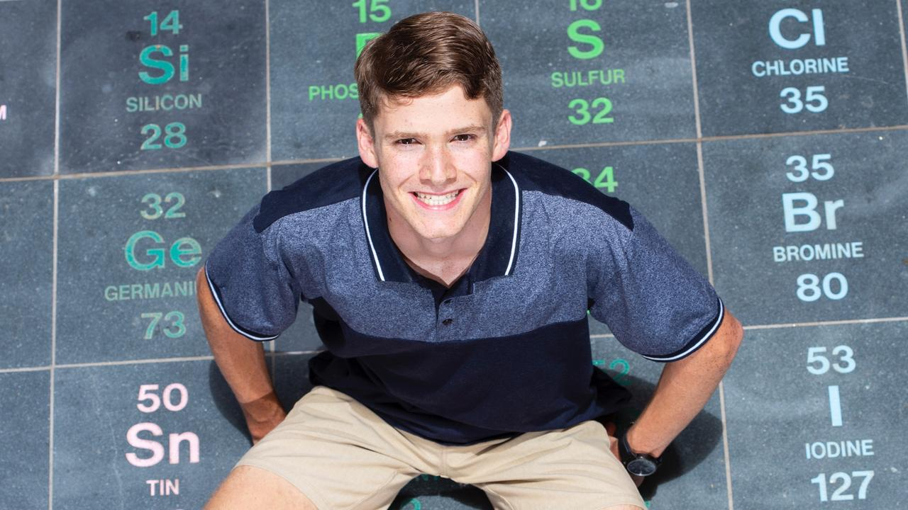 Matthew Flinders student Justin Holland was one of only 30 QLD students to receive the highest ATAR score possible.