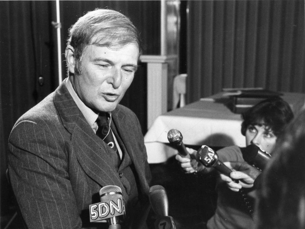 Doug Anthony, former deputy prime minister, in 1979.