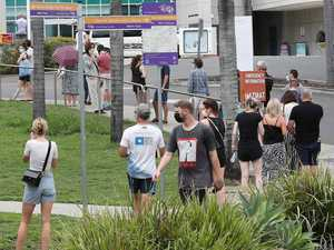 Brisbane COVID clinics slammed as people rush to get tested