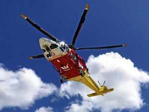 Boy airlifted to hospital after quad bike crash