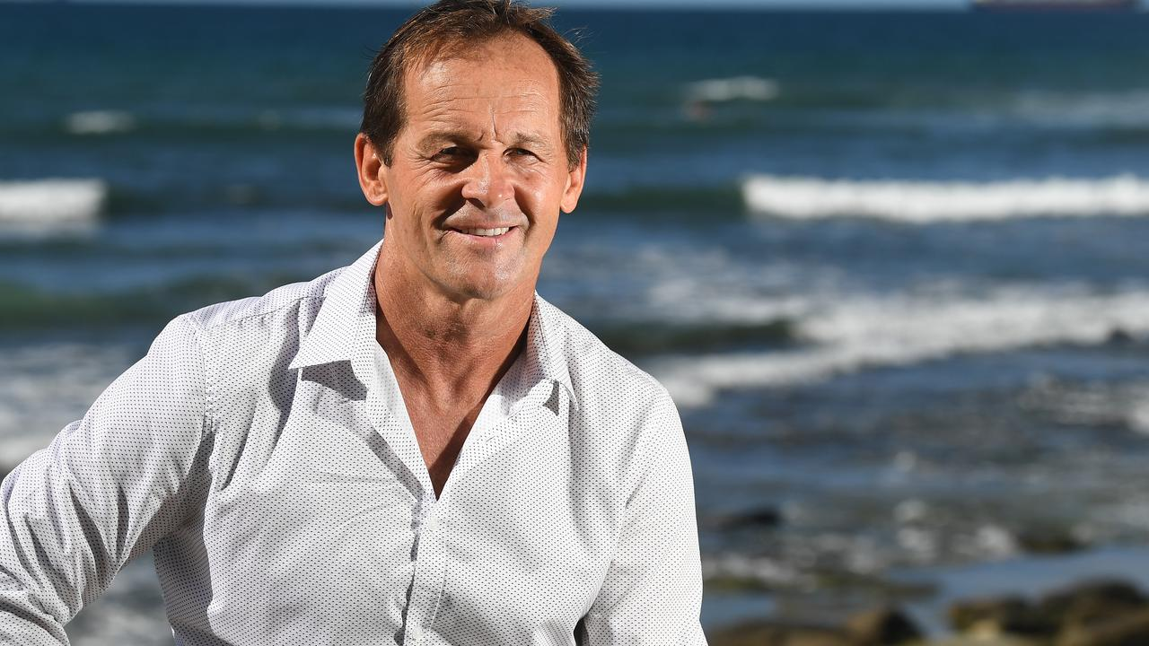 Councillor Terry Landsberg said the divisive shade cloths were taken down after council received a petition saying they affected the view of Shelly Beach.