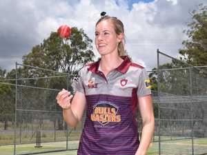 MASTERCLASS: Cricket star teaching the next generation