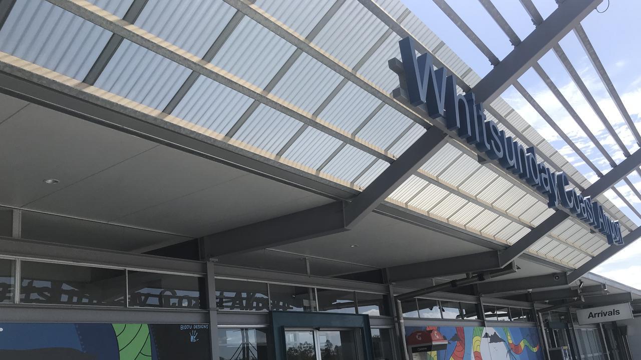 Whitsunday Coast Airport. Picture: Laura Thomas