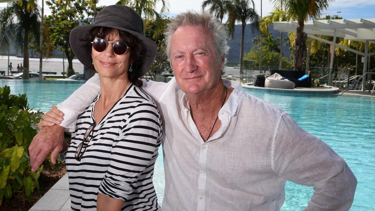 Rachel Ward and Bryan Brown live in Sydney's northern beaches. Picture: Anna Rogers