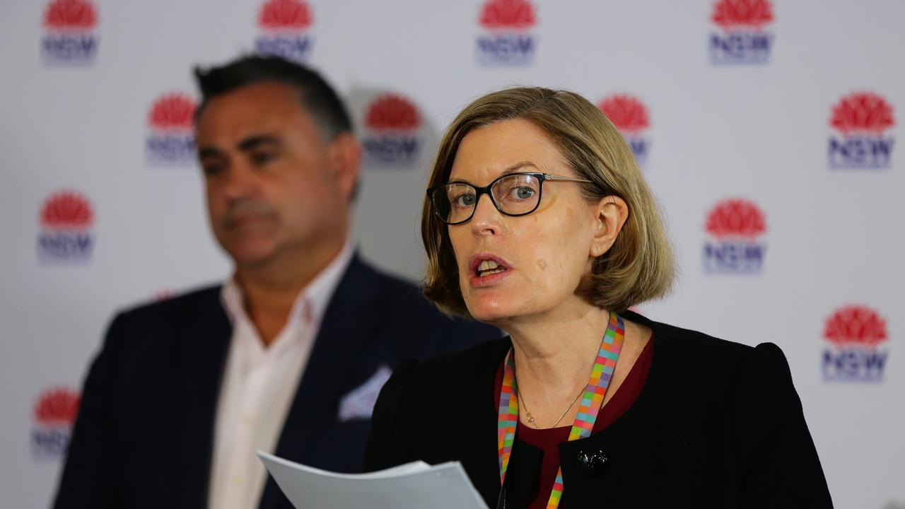 NSW Chief Health Officer Dr Kerry Chant said the new UK strain was in Australia. Picture: NCA NewsWire / Gaye Gerard