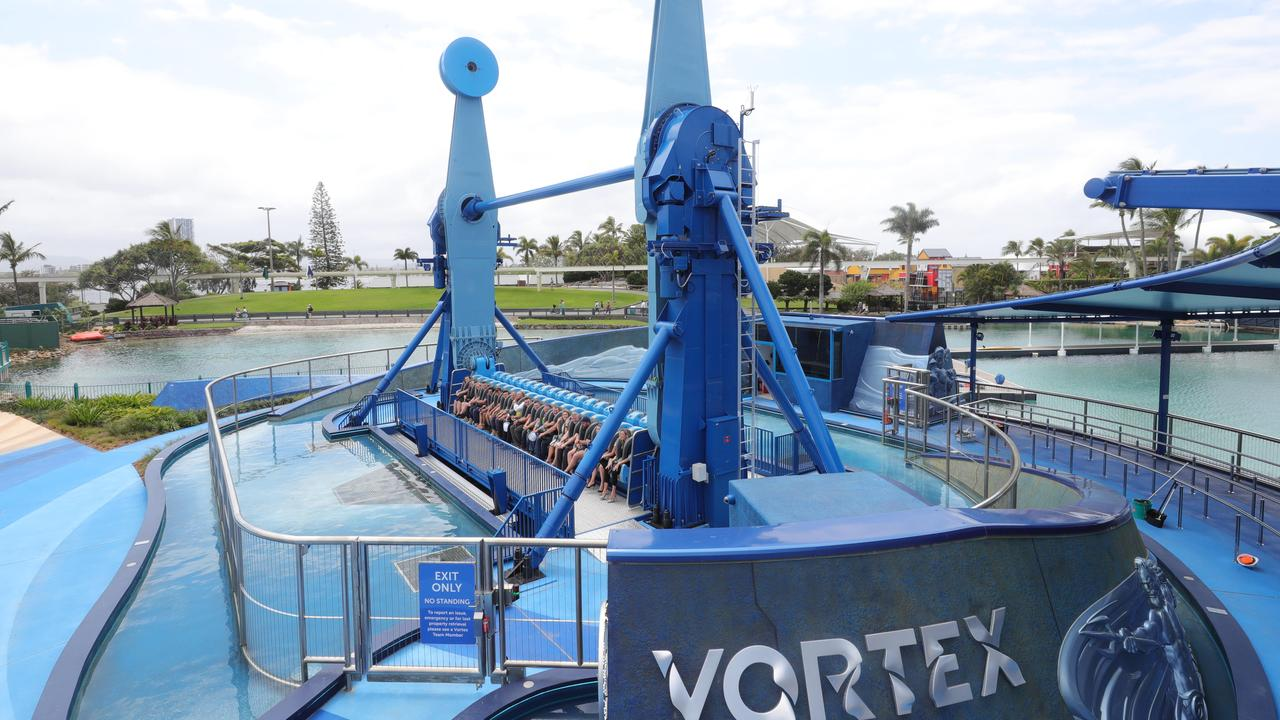 The Vortex will carry its first passengers on Monday. Picture: Glenn Hampson.