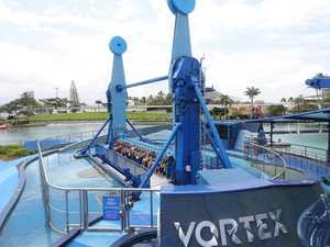 'SPECTACULAR': First ride on Sea World's Vortex