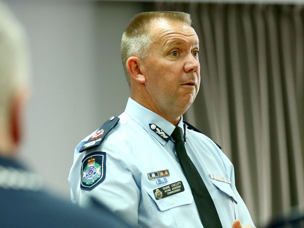 Assistant Commissioner Shane Chelepy. Picture: Liam Kidston