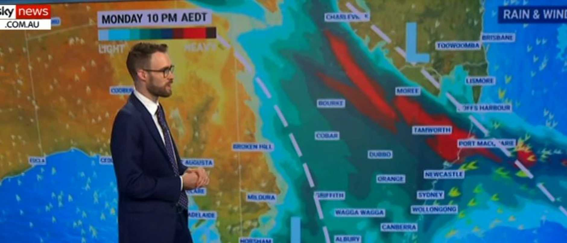 Australia's east is bracing for more wild weather from today.