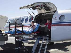 Flying doctor transfers 2600+ patients from CQ in 2020