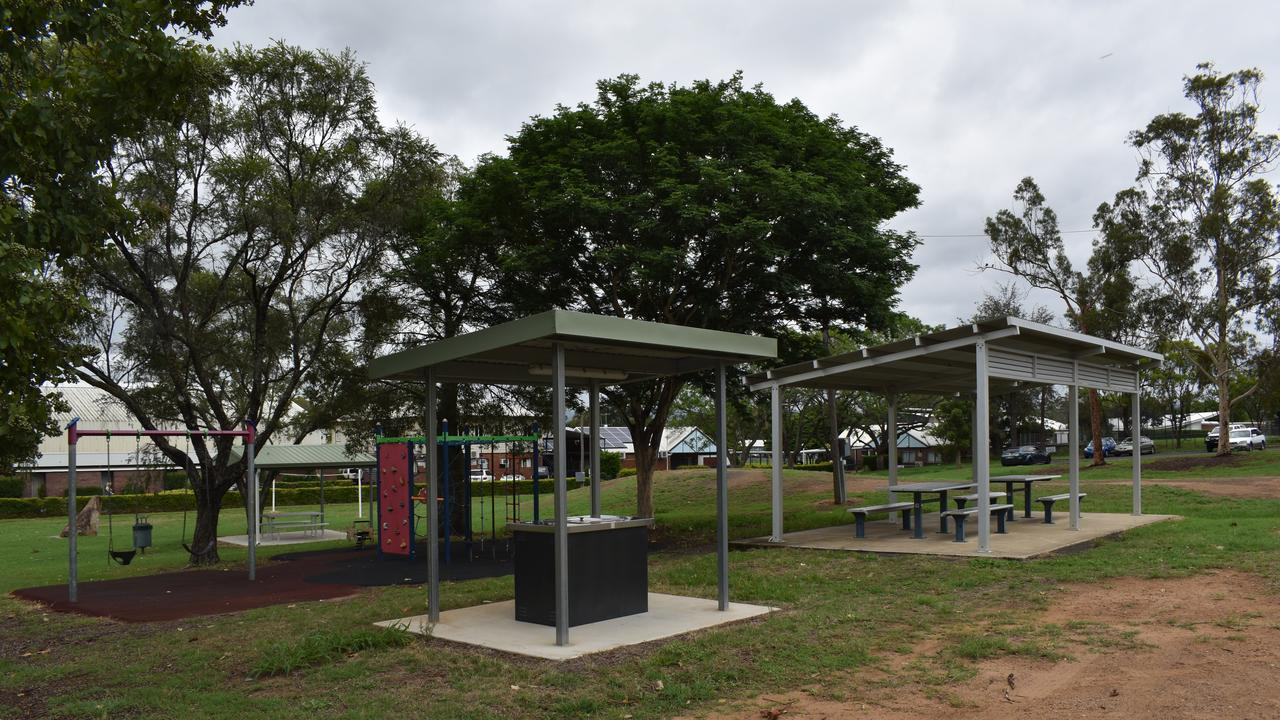 The Lockyer Valley Regional Council has discussed a plan to sell the Rotary Park at Gatton. Photo: Hugh Suffell.