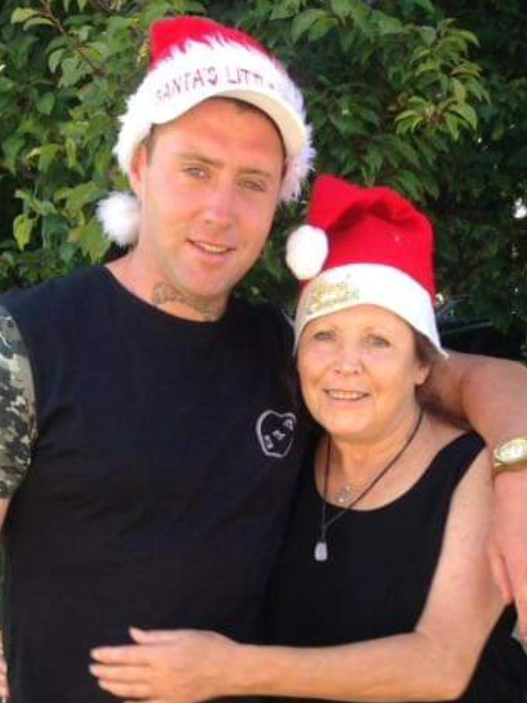 Billy Guest and his mum Roxanne Ryder.