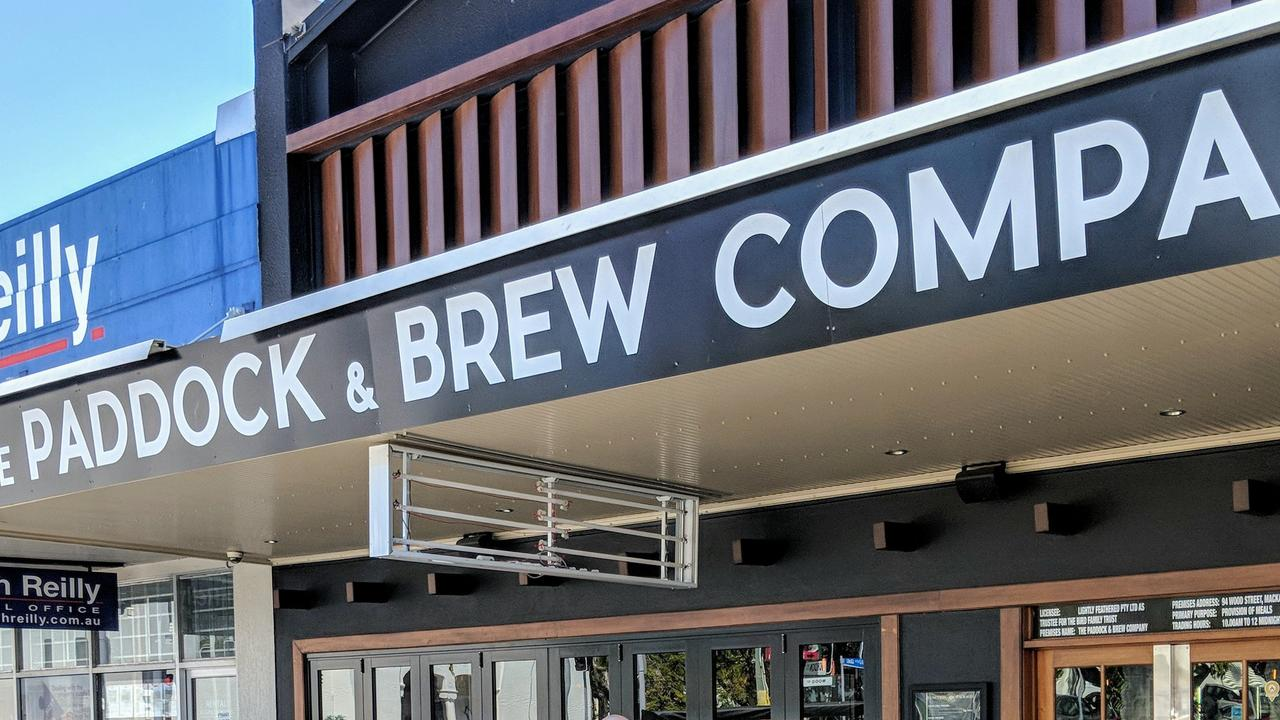 The Paddock and Brew Company in Mackay.
