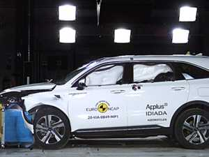 New crash test putting drivers at risk