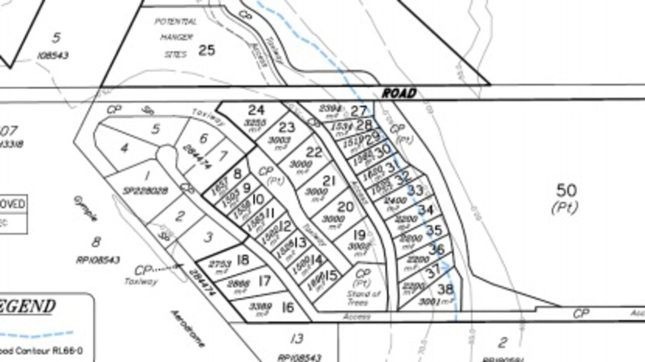 Kybong Airport Cumulus Airpark plans.