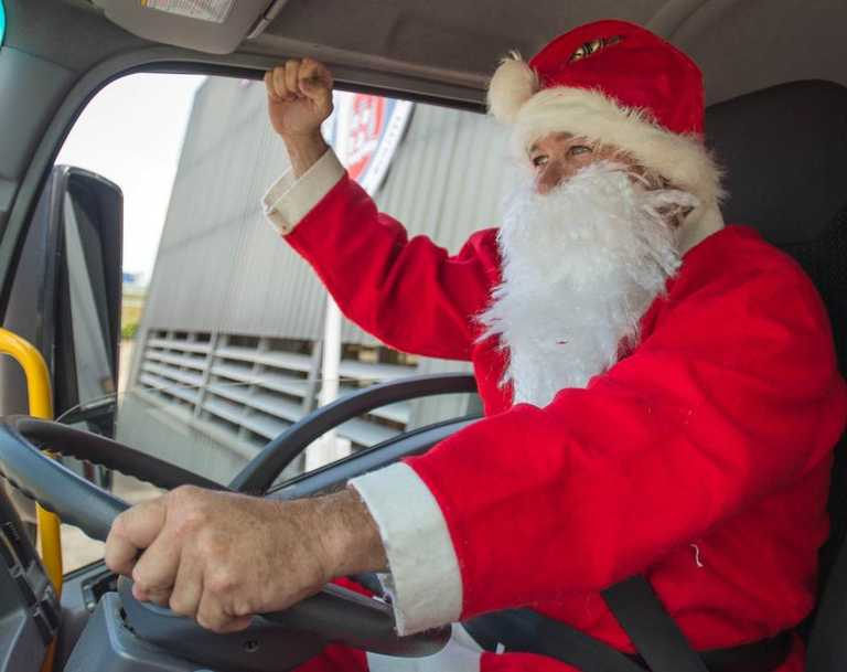 Santa will be taking part in a lolly drive at Sarina this week. Picture: File.