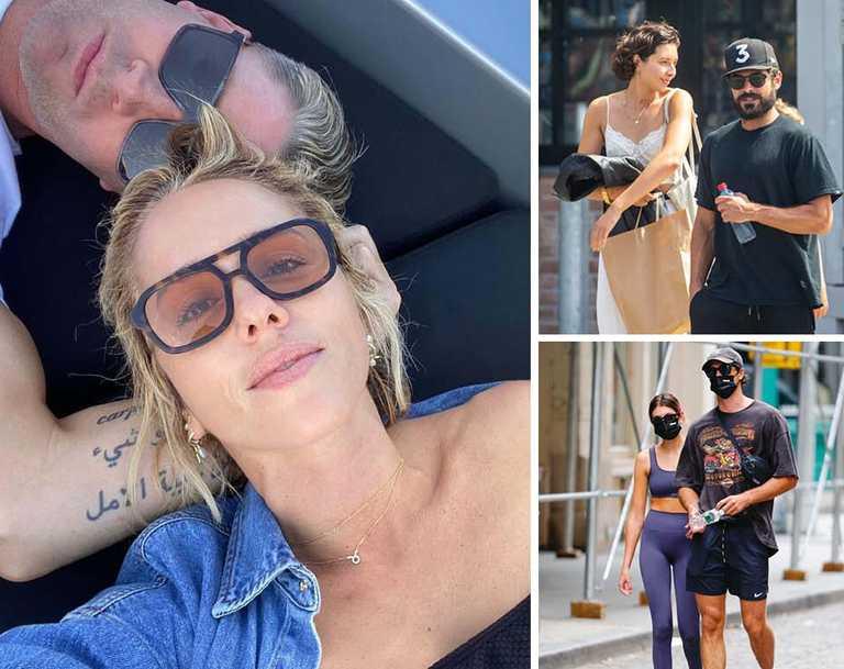 Celebrity hookups 2020. Pictures: Instagram, Getty