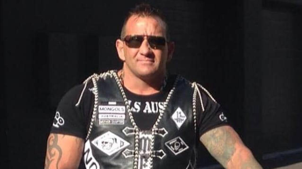 Mongols bikie Shane Bowden. Picture: supplied