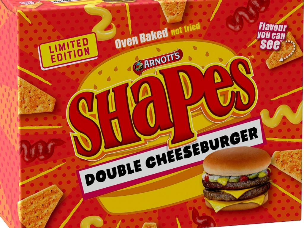 And the Double Cheeseburger flavour.