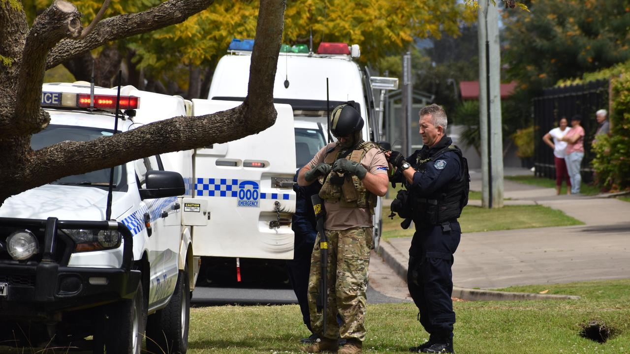 A man was arrested after a stand-off with police in Grafton throughout the morning of Sunday, 20th September, 2020.