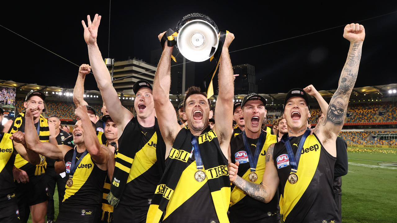 The AFL is yet to decide if the 2021 Grand Final will be played at night. Picture: Michael Klein
