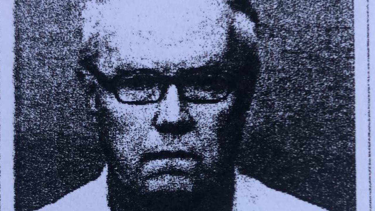 Mugshot of paedophile psychologist Craig Baker. Supplied