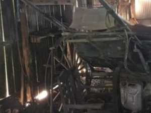 Horse-drawn sulky stolen, can you help find it?