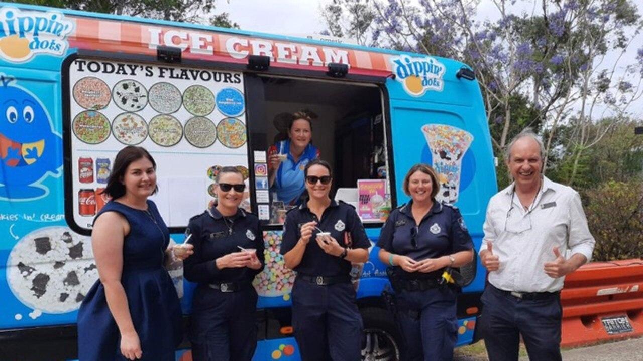 Dippin Dots Ice Cream owner Katrina Czapracki operates across Ipswich, greater Brisbane and Toowoomba.