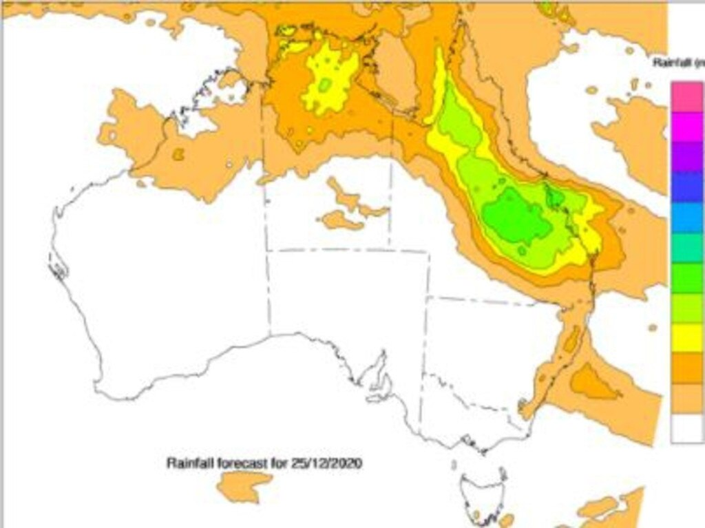 Bureau of Meteorology predict light showers for the Northern Rivers.
