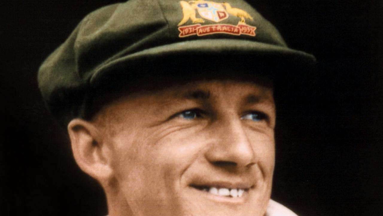 The first baggy green given to Sir Donald Bradman has sold at auction - but the famous cap fell well short of early expectations.