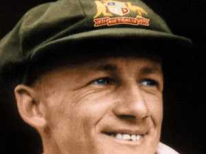Bradman's debut baggy green flops at auction