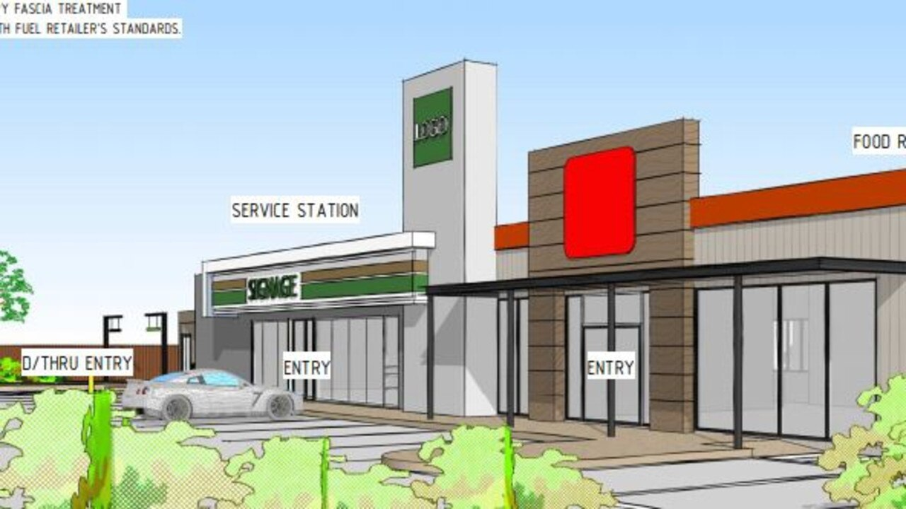 A development application was submitted to Ipswich City Council in December to build a service station complex over two stages on Mount Crosby Rd in Chuwar.