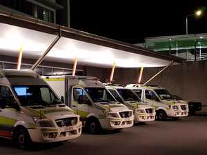 Ambulances 'ramped' as demand rises on CQ hospitals