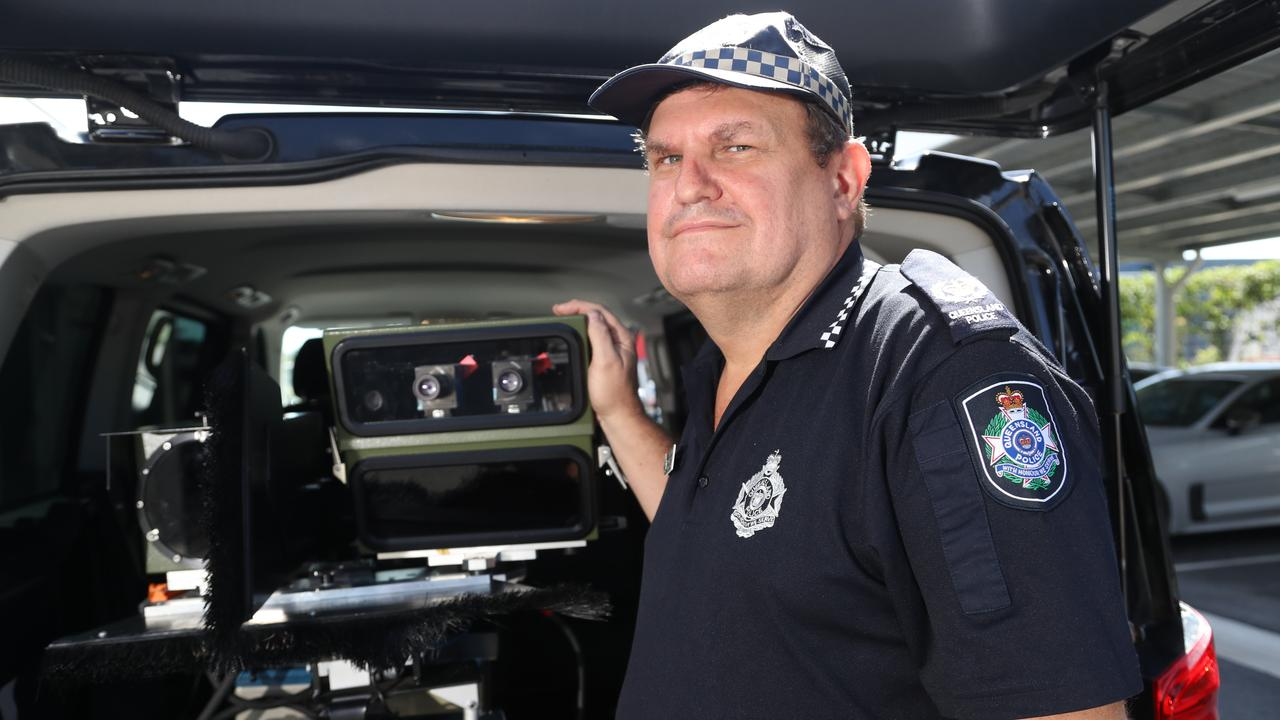 Acting Sen-Sgt Mark Buckman is urging caution on the roads over the Christmas holiday period. PICTURE: STEWART McLEAN